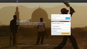 Aprire un account aziendale Twitter, step 1