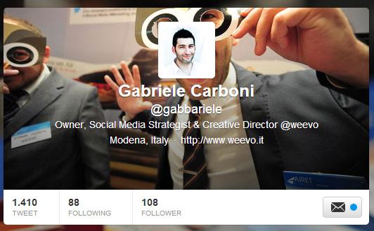 Aprire un account aziendale Twitter, step 4