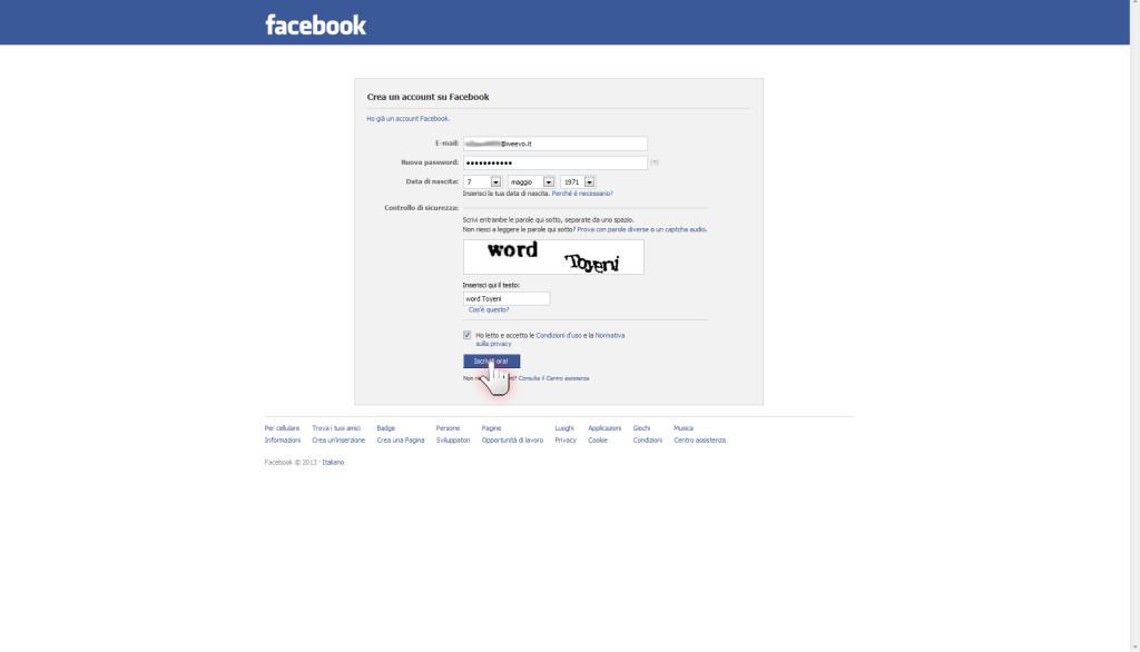 Aprire una pagina aziendale su Facebook, step 4