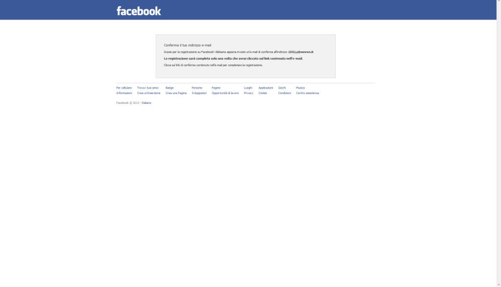 Aprire una pagina aziendale su Facebook, step 5