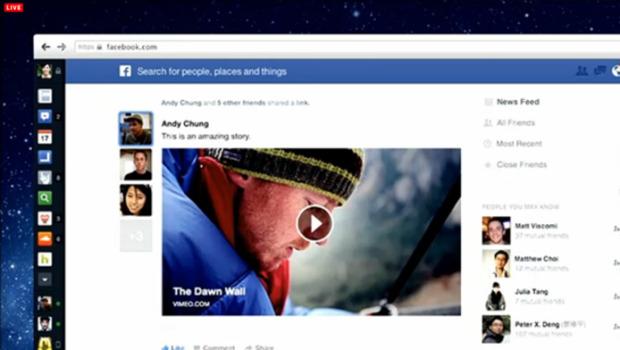Come ottenere il nuovo layout di Facebook!